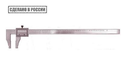Штангенциркуль ШЦ-630-0.1 Гост с поверкой СтИЗ